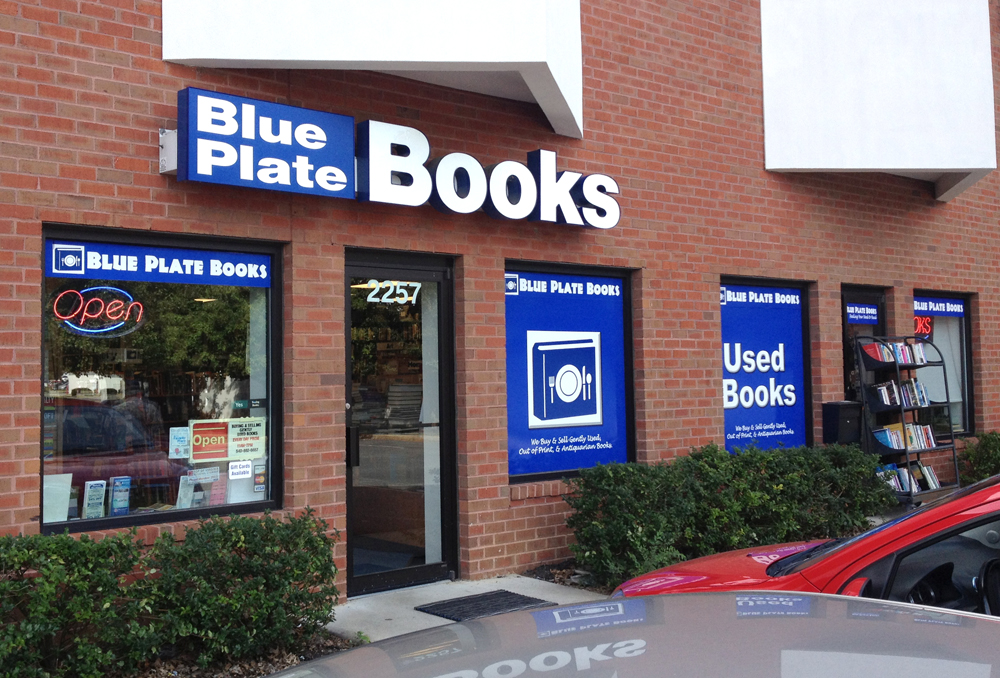 blue plate books