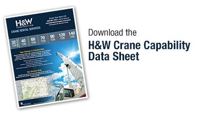H&W Crane Data Sheet