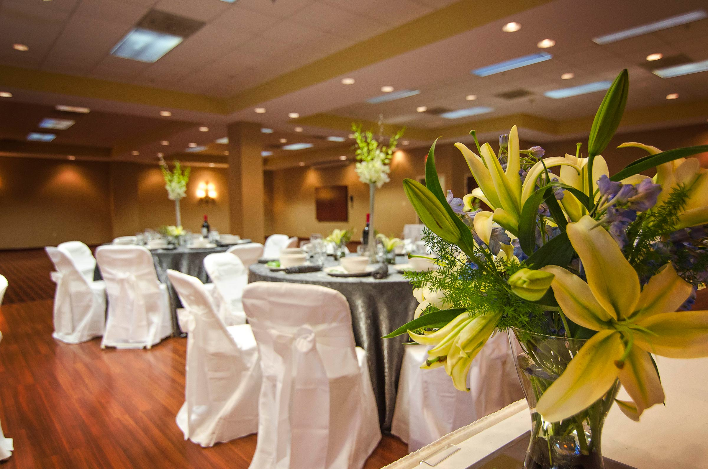 Wedding Event Room Setup
