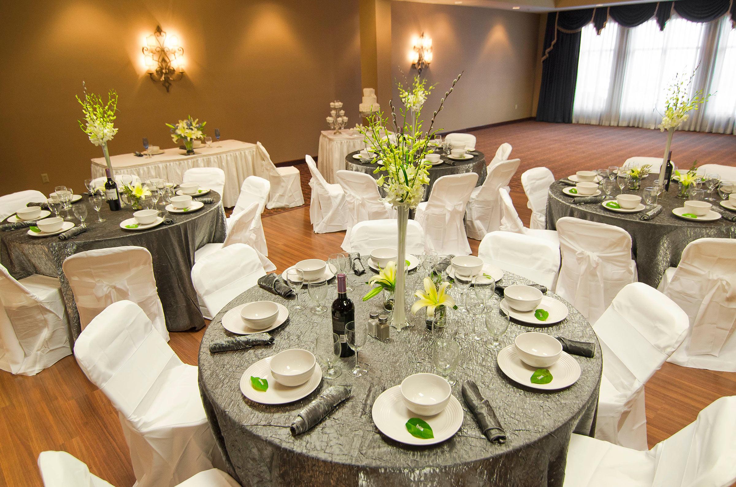 Wedding Event Table Setup