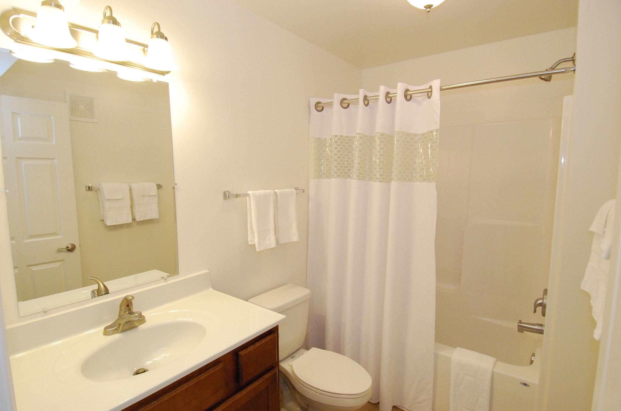 corporate apt bathroom