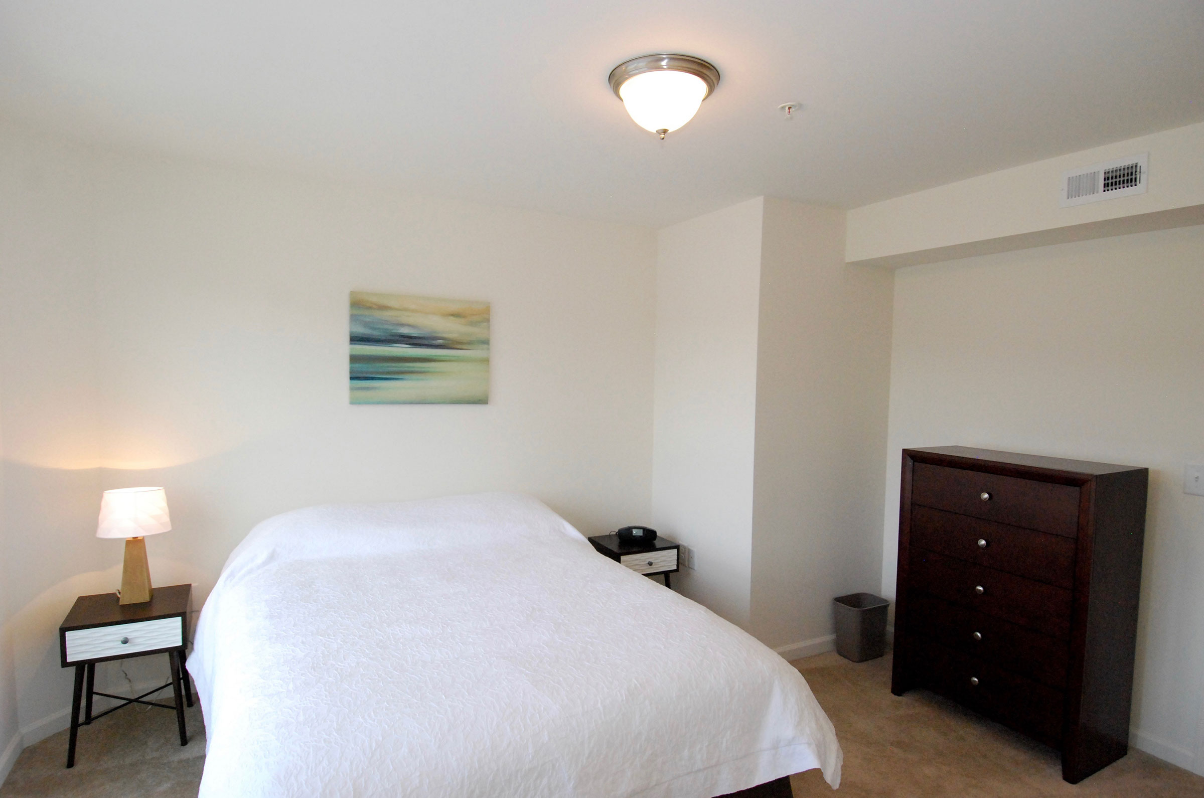 corporate apt bedroom