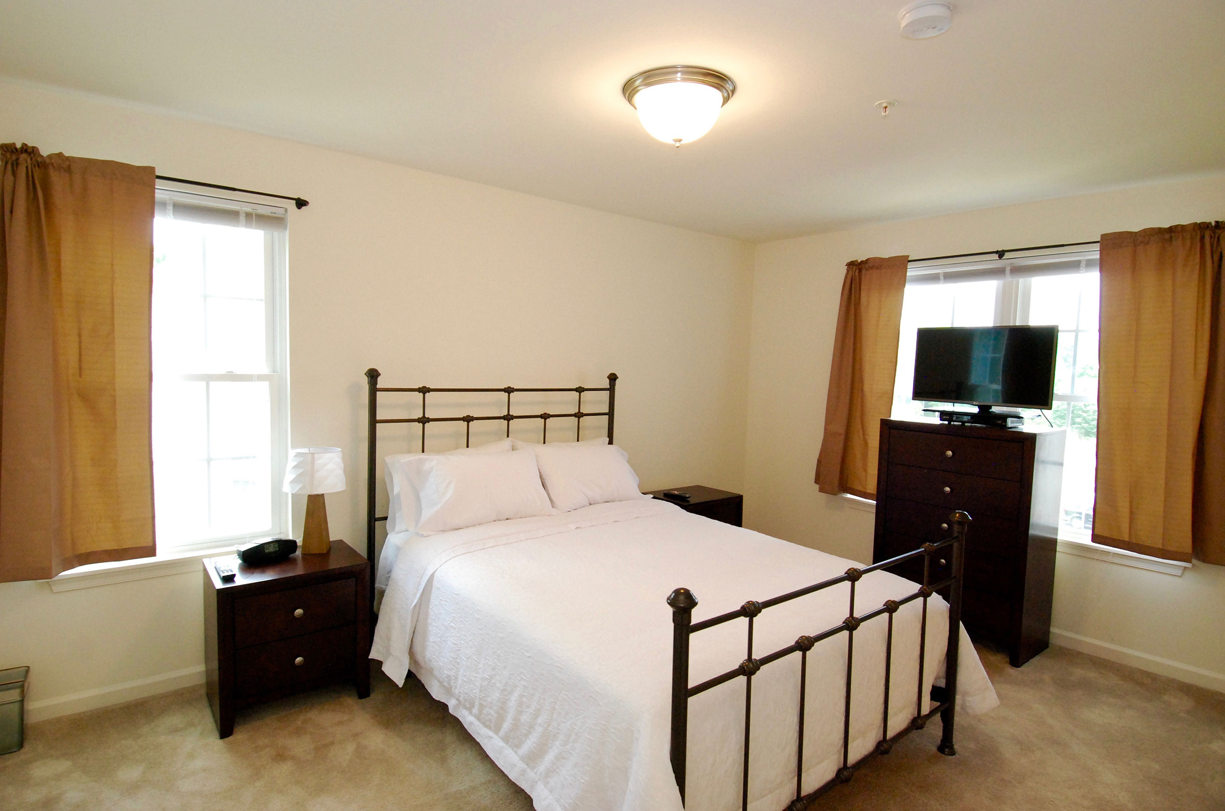 corporate apt master bedroom