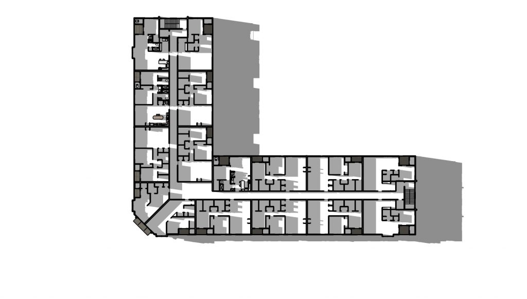 Harrison Plaza Mixed Use Bldg REVISED 04162019 second floor plan 1