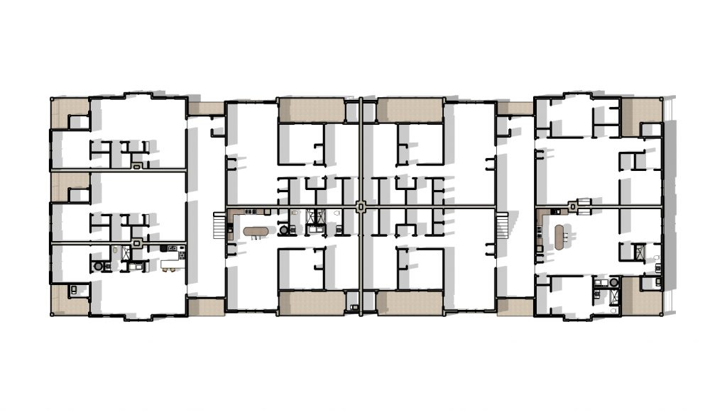 Harrison Plaza MultiFamily Building FINAL floor plan typ 04152019 1