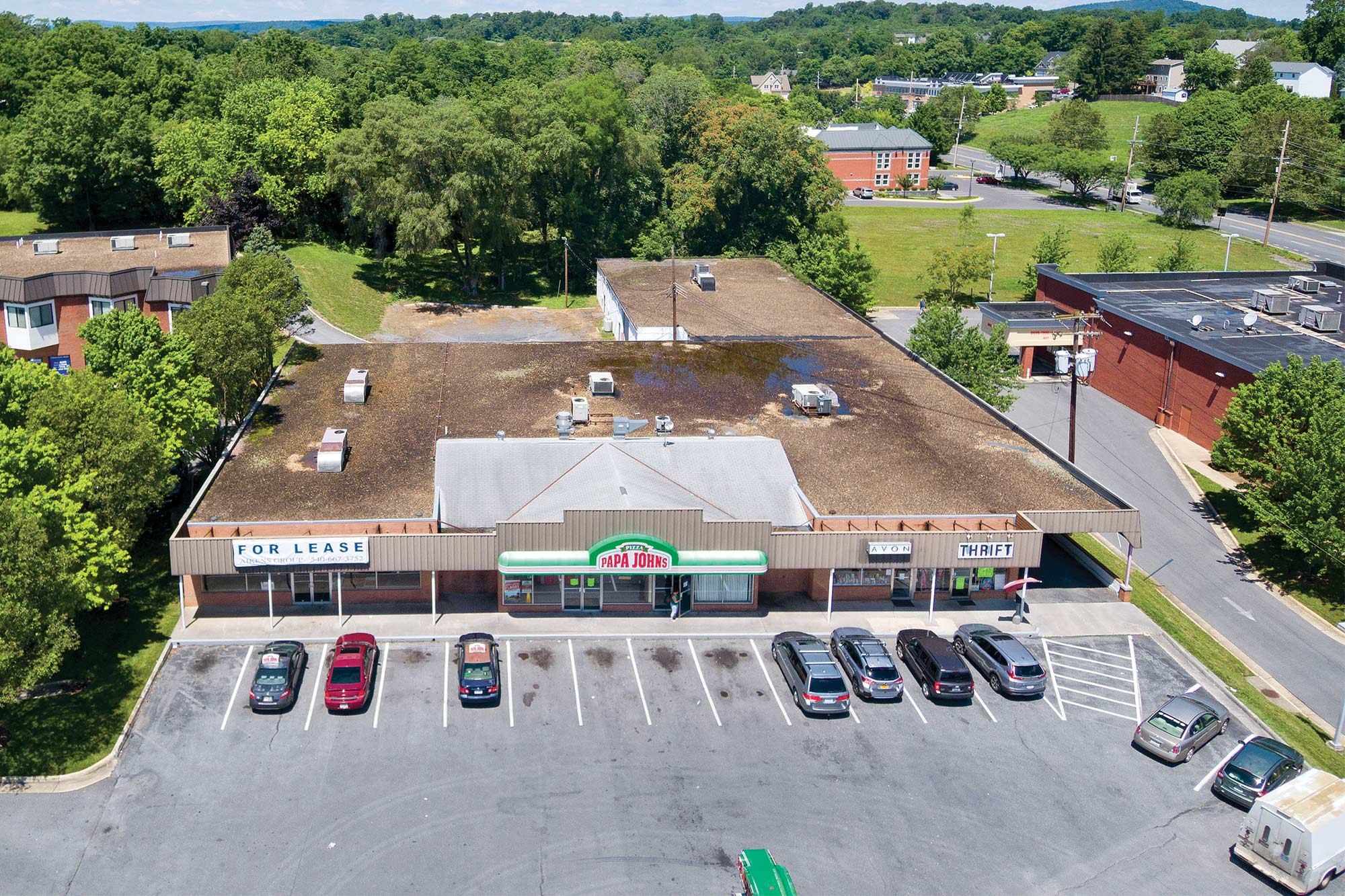 Shopping Mart Retail Complex Winchester aerial 5
